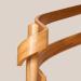 Schody drewniane z wypełnieniem balustrady typu wstęgi